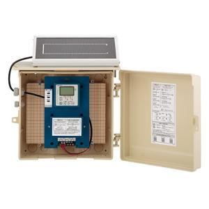 カクダイ 3チャンネルソーラー発電ユニット 電磁弁を3台まで制御【504-046】ソーラーパネル 散...