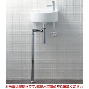 INAX イナックス LIXIL・リクシル 狭小手洗シリーズ 手洗タイプ[丸形]AWL-33(BS)-S [床給水/床排水(ボトルトラップ)] [ハイパーキラミック]|mary-b