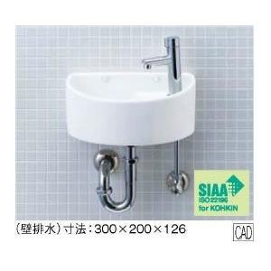 手洗い器一式セット AWL-33(P) 壁給水・壁排水 INAX イナックス LIXIL・リクシル トイレ用狭小手洗シリーズ 手洗タイプ(丸形) AWL-33P|mary-b