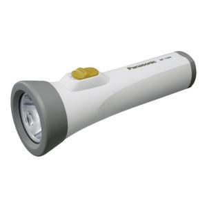 防災グッズ LED懐中電灯 パナソニック BF-158BF-W エボルタ付きLEDライト(単1電池2個用)  電池別売り   |mary-b