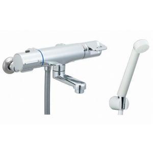 【水栓 浴室 寒冷地用】イナックス サーモスタット付シャワーバス水栓 洗い場専用 エコフルスプレーシャワー付 INAX LIXIL・リクシル BF-HB147TNSD mary-b
