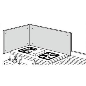 リクシル・サンウェーブ 取り替えキッチン <パッとりくん> その他別売用品 防熱板(側壁用) IH ヒーター用 BN550A