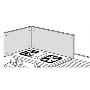 リクシル・サンウェーブ コンパクトキッチン サンファーニ <ティオ・プラス> 追加パーツ ステンレス製防熱板 BN600A