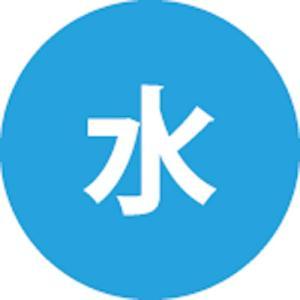 三栄水栓 配管識別シール(水道水用)【ECXH240-2W-ZA】  SANEI mary-b