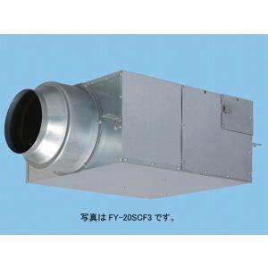 パナソニック 換気扇 【FY-25SCX3】 新キャビネット消音 消音ボックス付送風機 キャビネットファン 消音形 天吊形 三相200V|mary-b