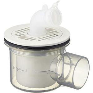 三栄水栓 洗濯器用品 洗濯機排水トラップ H5551C-W-50   SANEI|mary-b