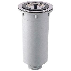 三栄水栓 キッチン用品 流し排水栓 カゴ付流し排水栓 H65   SANEI  排水口カゴ 深型 排水カゴ ゴミ受け 排水ゴミ受け 流しゴミ受け|mary-b