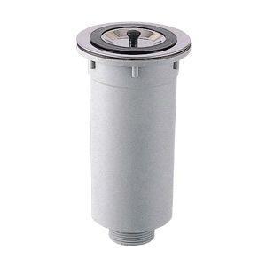 三栄水栓 キッチン用品 流し排水栓 カゴ付流し排水栓 H65-50   SANEI 排水口ゴミ受け ゴミ受け 排水カゴ 排水ゴミ受け 流しゴミ受け|mary-b