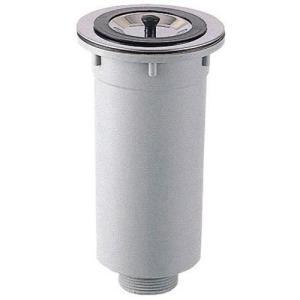 三栄水栓/SANEI キッチン用品 流し排水栓 カゴ付流し排水栓 H65 |mary-b