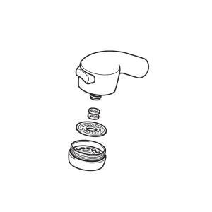 KVK  HC289-G5E2/800  旧MYMキッチン水栓用シャワーヘッド 旧MYM補修部品>旧MYMキッチン・洗面シャワー部品 [新品] mary-b