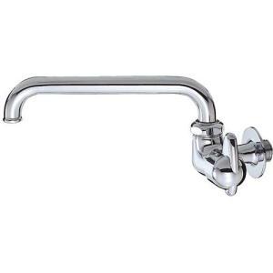 三栄水栓/SANEI 単水栓 ミニセラ横形自在水栓 JA205-13 [蛇口]|mary-b