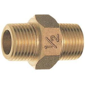 三栄水栓 配管システム 砲金六角ニップル JT700-13   SANEI|mary-b