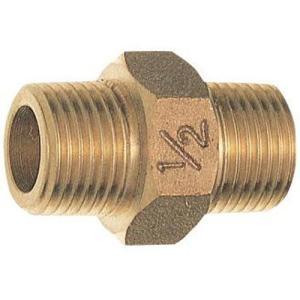 三栄水栓 配管システム 砲金六角ニップル JT700-20   SANEI|mary-b