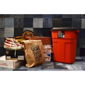 おしゃれな屋外用 ごみ箱 トラッシュカン 30L イエロー【L-941Y】【東谷】【注意:代引き不可】|mary-b|02