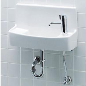 L-A74HC イナックス・リクシル トイレ用手洗い器 一式セット ハンドル水栓 壁給水・壁排水 ハイパーキラミック 間口460mm INAX LIXIL  mary-b