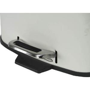 べダル式 ふた付きゴミ箱 30Lラバン ホワイト【LFS-072WH】 【東谷】【注意:代引き不可】|mary-b|03