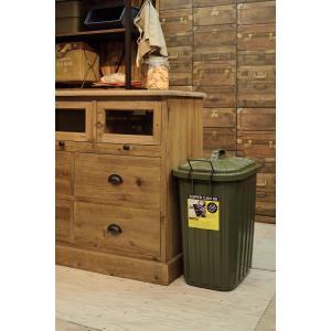 ゴミ箱 分別用 大型 60L 屋外屋内兼用 ふた付きペール 耐寒性 スーパーカン【LFS-937】【東谷】【注意:代引き不可】|mary-b