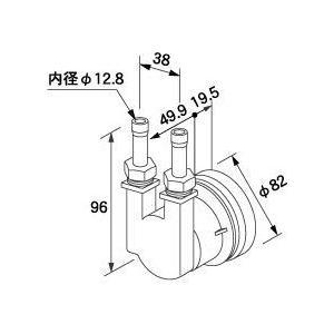 0704956 ノーリツ 給湯器 関連部材 循環アダプターHX 循環アダプター HX-TL|mary-b