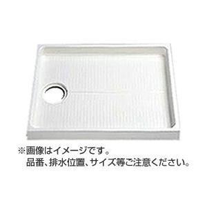 大型代引不可 TOTO 洗濯機パン【PWP900LB2W】 サイズ900 排水口位置:左  mary-b