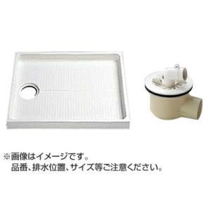 TOTO セット品番【PWSP80DB2W】 洗濯機パン[PWP800CB2W]サイズ800+横引トラップ[PJ2003B] mary-b