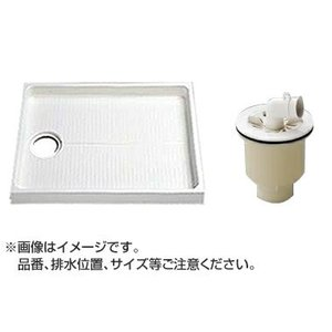 TOTO セット品番【PWSP80E2W】 洗濯機パン[PWP800N2W]サイズ800+縦引トラップ[PJ2004B] mary-b