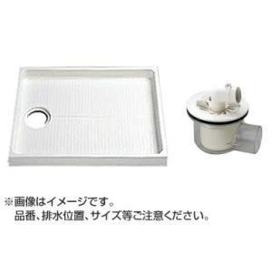 TOTO セット品番【PWSP80F2W】 洗濯機パン[PWP800N2W]サイズ800+横引トラップ[PJ001] mary-b