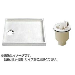 TOTO セット品番【PWSP80JB2W】 洗濯機パン[PWP800CB2W]サイズ800+縦引トラップ[PJ2009NW] mary-b