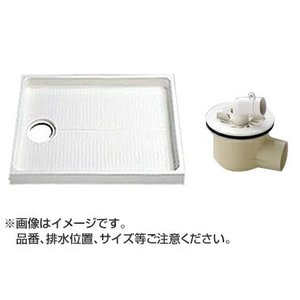 TOTO セット品番【PWSP80LDB2W】 洗濯機パン[PWP800LB2W]サイズ800+横引トラップ[PJ2003B] mary-b