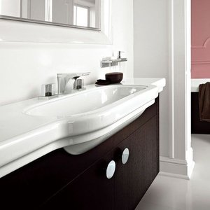三栄水栓/SANEI デザイン水栓シリーズ 洗面器 SL810688-W-108 LAUFEN|mary-b