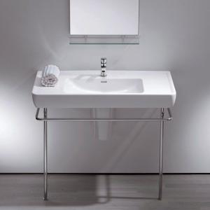 三栄水栓/SANEI デザイン水栓シリーズ 洗面器 SL812958-W-104 LAUFEN|mary-b