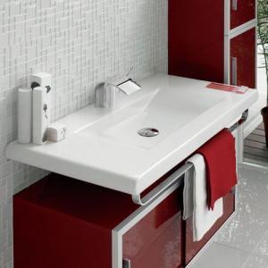 三栄水栓/SANEI デザイン水栓シリーズ 洗面器 SL814437-W-104 LAUFEN|mary-b