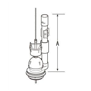 【あすつく】TF-2820C(243) INAX・イナックス・LIXIL・リクシル トイレ部品 大小切替フロート弁|mary-b