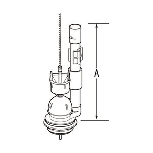 TF-2820C(268) INAX・イナックス・LIXIL・リクシル トイレ部品 大小切替フロート弁|mary-b