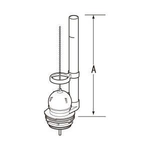【あすつく】TF-889C INAX・イナックス・LIXIL・リクシル トイレ部品 フロート弁|mary-b