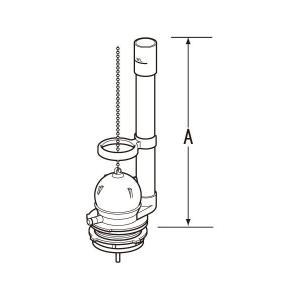 TF-889CW INAX・イナックス・LIXIL・リクシル トイレ部品 フロート弁(流動式)|mary-b