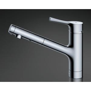 TOTO キッチン用水栓金具 【TKS05305Z】 GGシリーズ シングル混合水栓(ハンドシャワー・吐水切り替えタイプ) 台付シングル混合水栓|mary-b