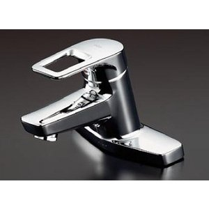 TOTO 洗面所用水栓金具 TLHG30ERZ (寒冷地用) 台付シングル混合水栓|mary-b