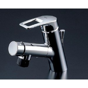 TOTO 洗面所用水栓金具 TLN32TEF 台付シングル混合水栓(ホース付きタイプ)|mary-b