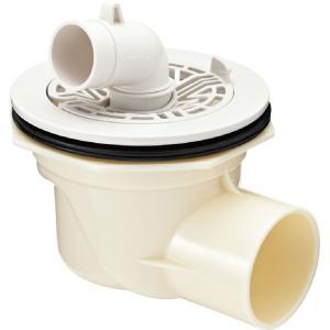 TP-52 洗濯機 防水パン用 排水トラップ INAX リクシル (横引き) ABS製排水トラップ ...
