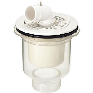 TP-53 洗濯機 防水パン用 排水トラップ INAX リクシル 縦引き 透明 ABS製 排水トラップ TP53 洗濯機パン 洗濯パン 排水トラップ|mary-b