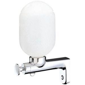 三栄水栓 洗面所用品 ソープディスペンサー プッシュ石ケン水容器 W111   SANEI|mary-b