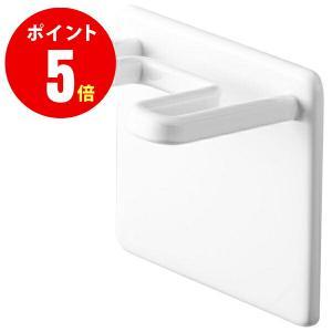 山崎実業 YAMAZAKI 04714 マグネットバスルームシェーバーホルダー ミスト ホワイト WH|mary-b