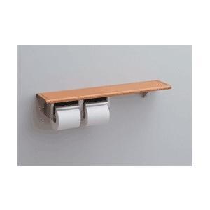 TOTOトイレットペーパーホルダーおしゃれな2連紙巻器、棚付【YHB62NS】62シリーズ 紙巻器 |mary-b