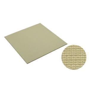 大建工業[DAIKEN] 床材 【YQ5001-21】<01グリーン(銀白色×若草色)> 970×970mm 彩園(さいえん) 畳風床材 ここち和座 敷き込みタイプ 2枚入り mary-b