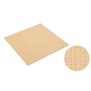 大建工業[DAIKEN] 床材 【YQ5002-2】<02イエロー(黄金色×白茶色)> 880×880mm 彩園(さいえん) 畳風床材 ここち和座 敷き込みタイプ 2枚入り mary-b
