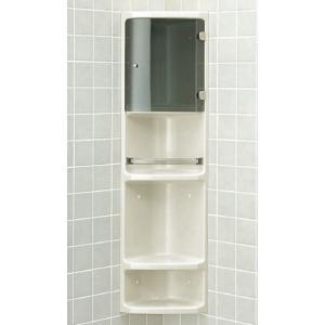 INAX イナックス LIXIL・リクシル アクセサリー 浴室収納棚 YR-312T|mary-b