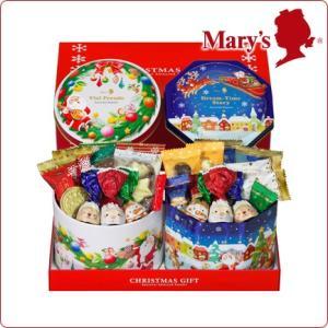 クリスマス 洋菓子 § クリスマスギフト 2缶入 § Christmas パーティ 子ども会 プレゼント 帰省 メリーチョコレート