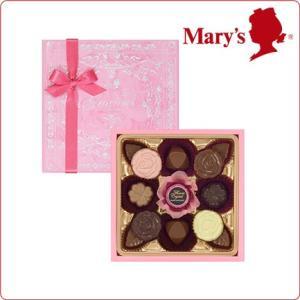バレンタイン チョコレート § フラワークリスタル 53g(13個)入 § Valentine 2017 プレゼント メリーチョコレート