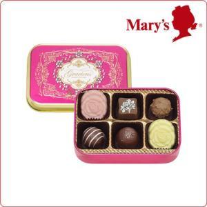 バレンタイン チョコレート § グレイシャス 6個入 § Valentine 2017 プレゼント メリーチョコレート