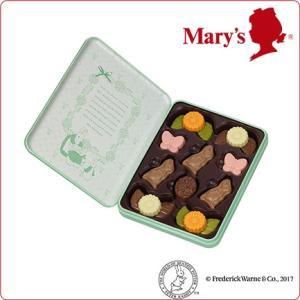 バレンタイン § ピーターラビット(TM) × メリーチョコレート プレーンチョコレート(グリーン) 65g(18個)入 § Valentine 2017